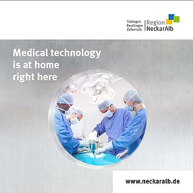 Medical technology is at home right here